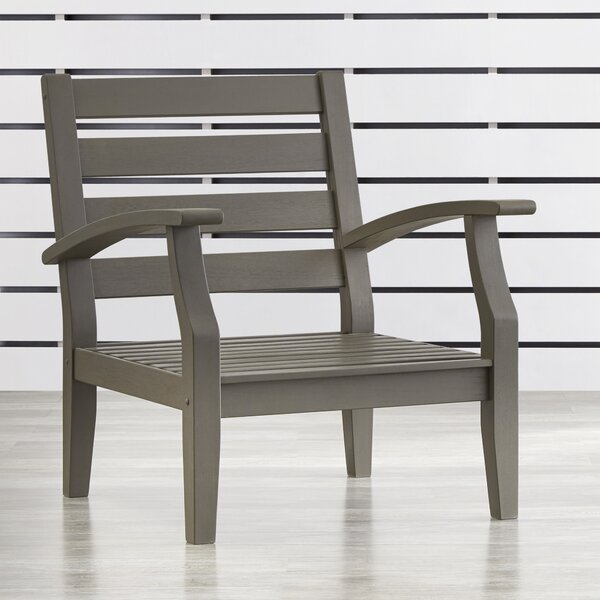 Brook Hollow Arm Chair by Three Posts