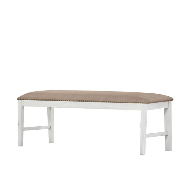 Spurgeon Upholstered Bench by August Grove