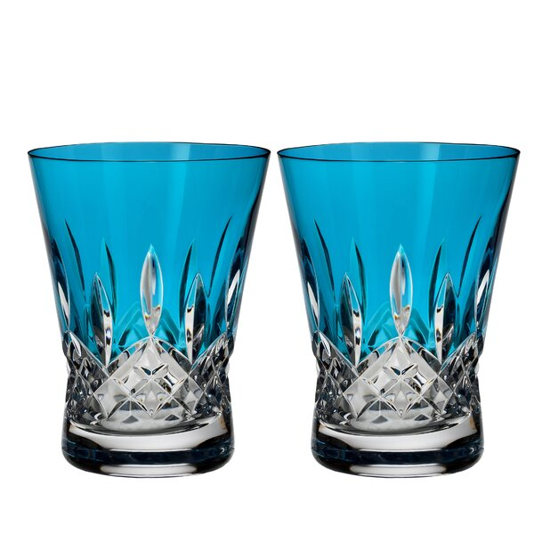 Lismore Pops Double Old Fashioned 12 oz. Crystal Cocktail Glass (Set of 2) by Waterford