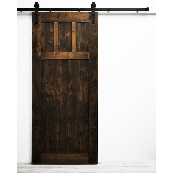 Craftsman Barn Door by Dogberry Collections
