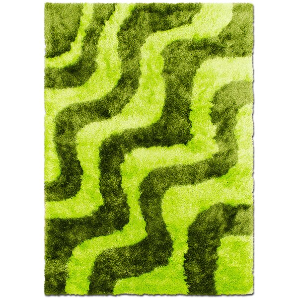 Hand-Tufted Green Area Rug By Allstar Rugs.