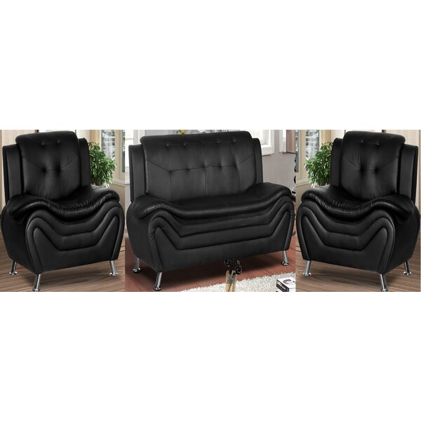 Gingras 3 Piece Living Room Set By Orren Ellis Purchase