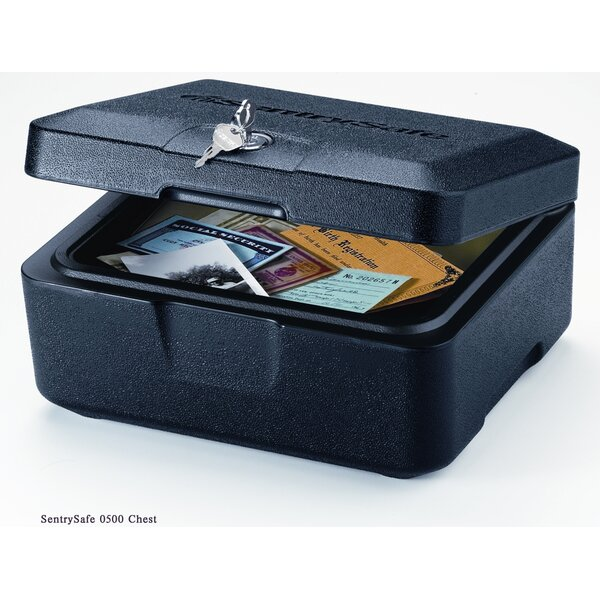 Fire Safe Box 0.15 CuFt with Key Lock by Sentry Safe
