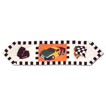 Racecar Table Runner by Patch Magic