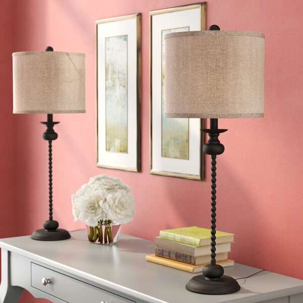 Crawfordsville 29.25 Table Lamp (Set of 2) by Alcott Hill