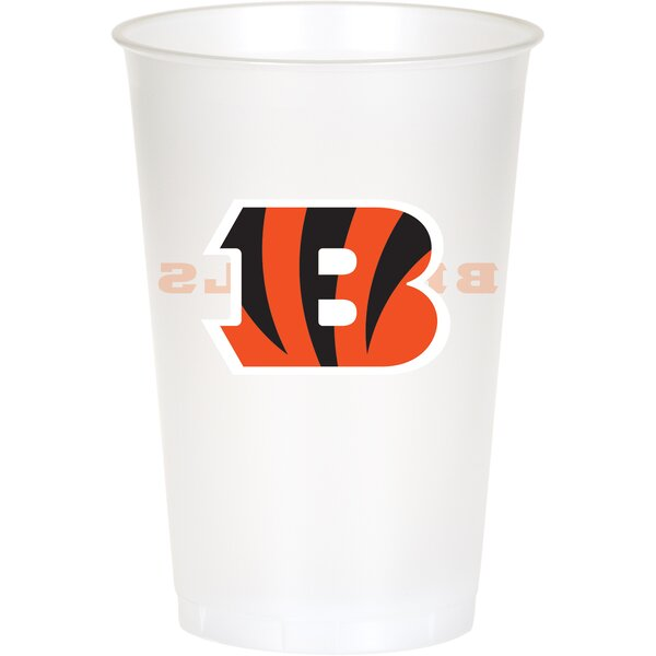 NFL 20 oz. Plastic Everyday Cup (Set of 24) by Creative Converting