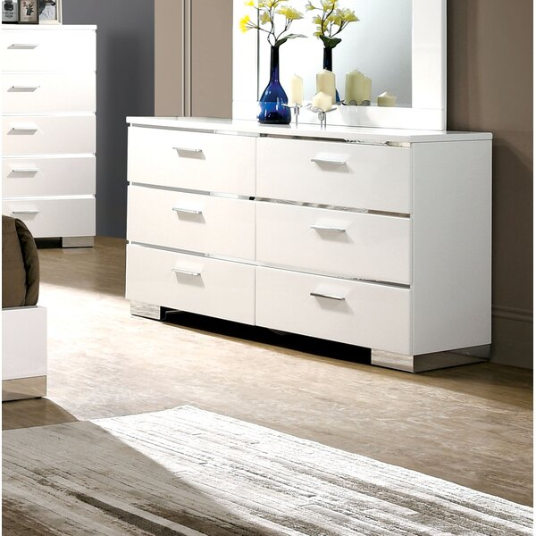 Ricka 6 Drawer Double Dresser by Brayden Studio