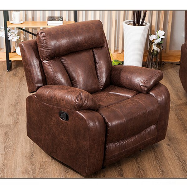 Mary-Jo Leather Manual Recliner W002992060