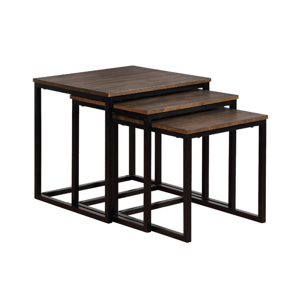 Hensley 3 Piece Nesting Tables By Gracie Oaks