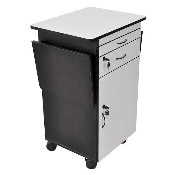 Multi-Media Work Center AV Cart by Offex