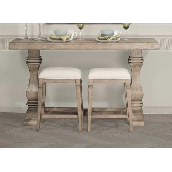 Lea 3 Piece Counter Height Console Table Set by One Allium Way