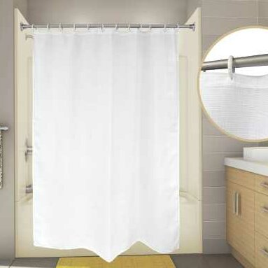 Premier Faucet Cotton Waffle Shower Curtain
