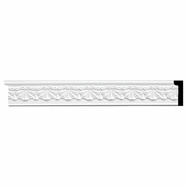 Acanthus 2 1/2H x 94 1/2W x 1/2D Leaf Panel Moulding by Ekena Millwork