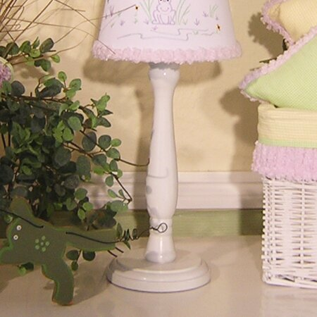 Froggy Lavender 15 Table Lamp by Brandee Danielle