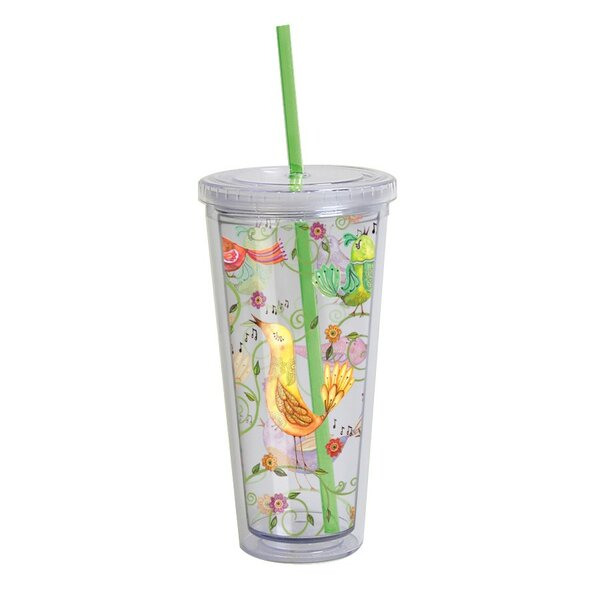 Songbirds Acrylic 22 Oz. Tumbler by Lang