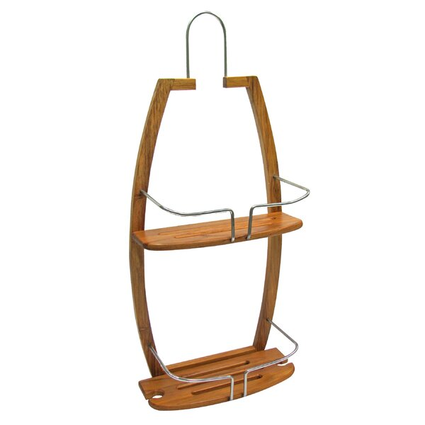 Bamboo Shower Caddy by Ginsey