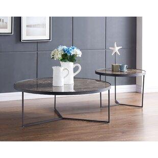 Gaetane 2 Piece Coffee Table Set 17 Stories