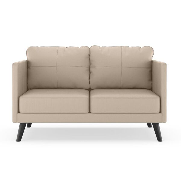 Schill Vegan Loveseat by Orren Ellis