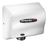Adjustable High Speed 100 - 240 Volt Hand Dryer in White by American Dryer