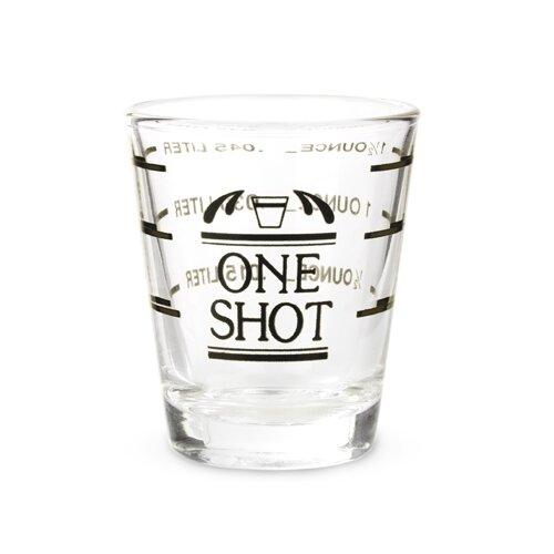 Bullseye Measured Shot Glass by True Brands