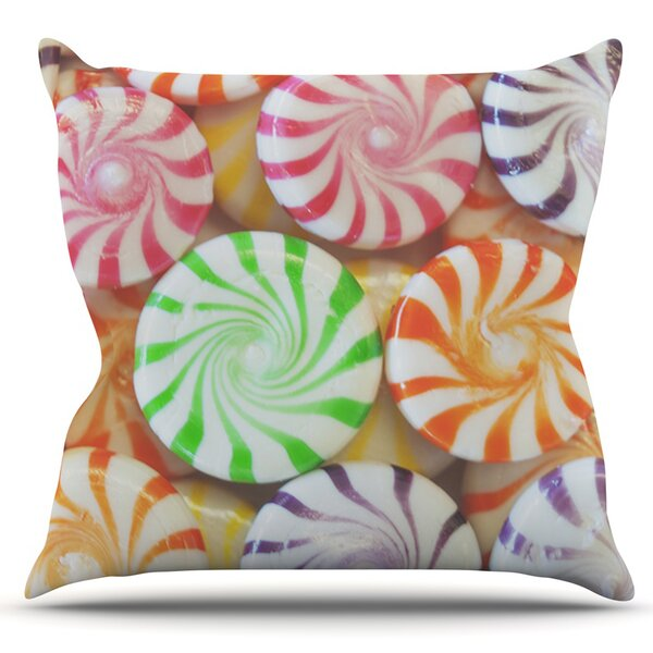 I Want Candy by Libertad Leal Outdoor Throw Pillow by East Urban Home