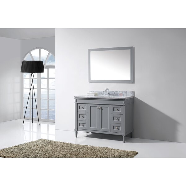 Zemple 48 Single Bathroom Vanity Set by House of Hampton