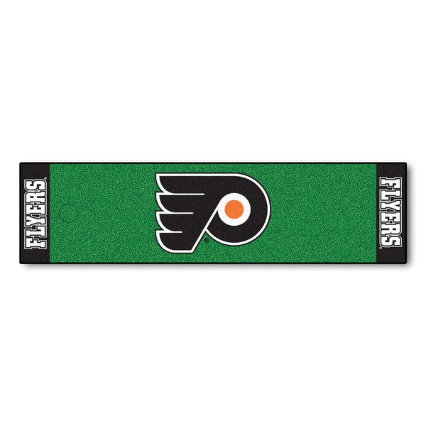 NHL - Philadelphia Flyers Putting Green Doormat by FANMATS
