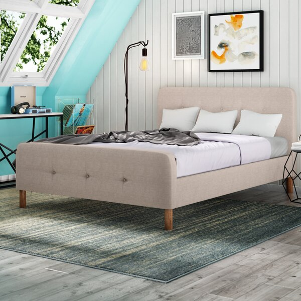 Broughton Upholstered Platform Bed by Trule Teen