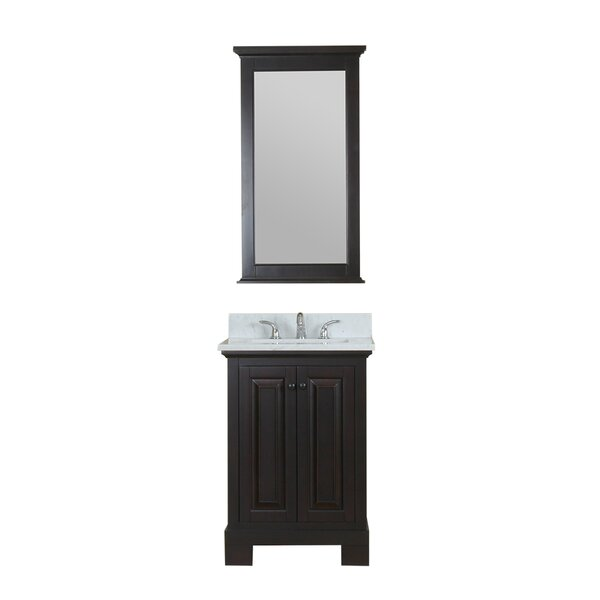 Cothern 24 Single Bathroom Vanity Set with Mirror by Red Barrel Studio