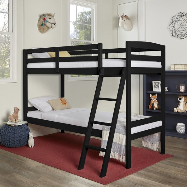 Dunigan Twin over Twin Bunk Bed by Harriet Bee