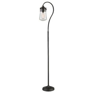 Low priced Cronan 58.25 Arched Floor Lamp By Breakwater Bay