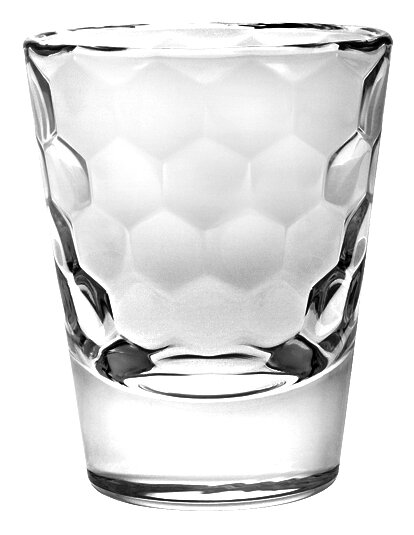 Honey 3 oz. Crystal Shot Glass (Set of 6) by Majestic Crystal