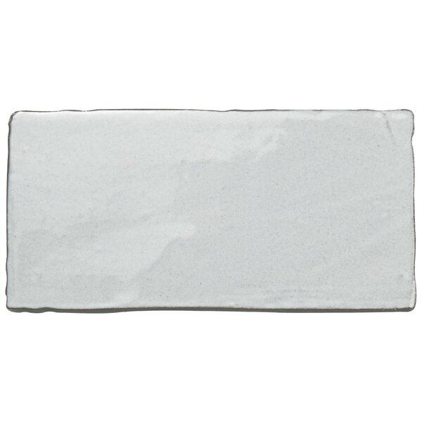 Antiqua 3 x 6 Ceramic Subway Tile in Special Milk by EliteTile