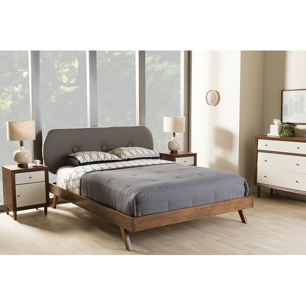 Benham Upholstered Platform Bed by George Oliver