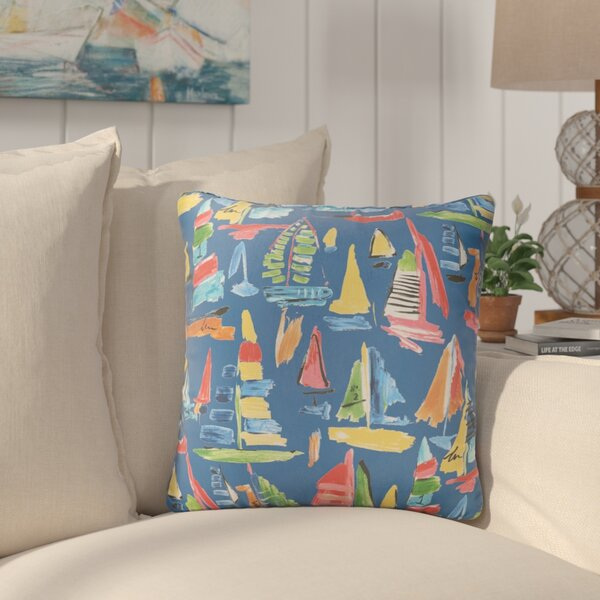 Wallon Indoor/Outdoor Throw Pillow (Set of 2) by Longshore Tides