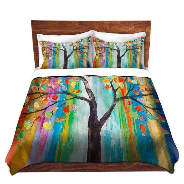 Color Tree Duvet Cover Set