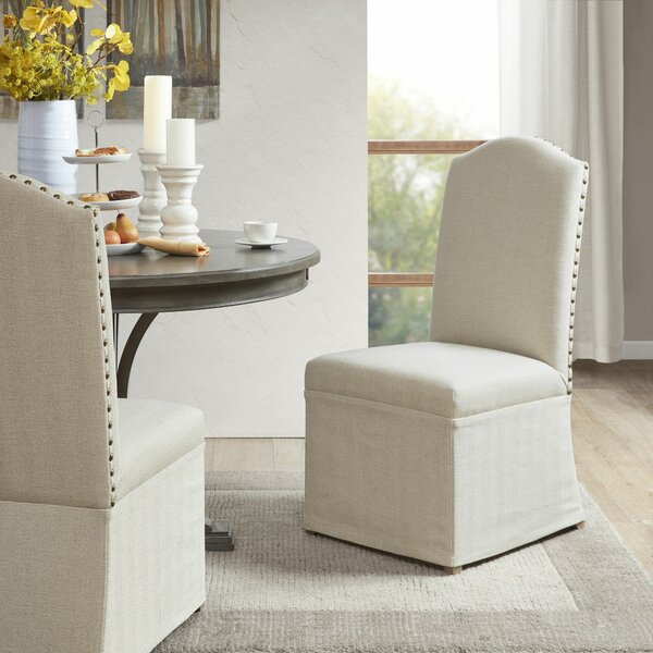 Dumont Upholstered Dining Chair (Set of 2) by Darby Home Co