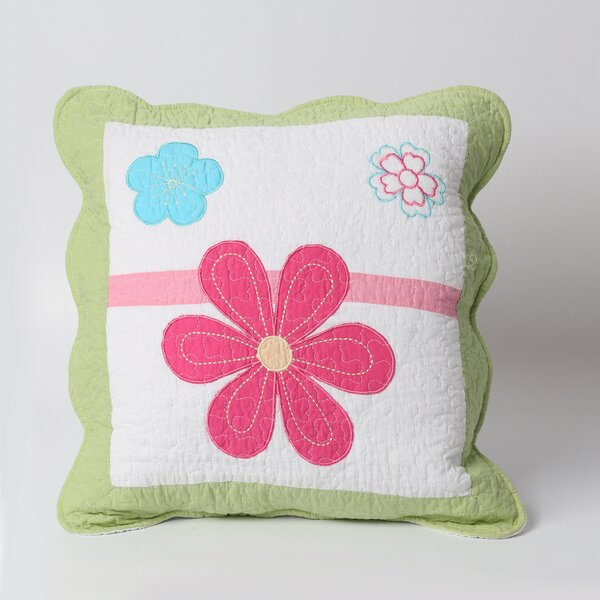 Spring Fling Flower Pillow by Cozy Line Home Fashion