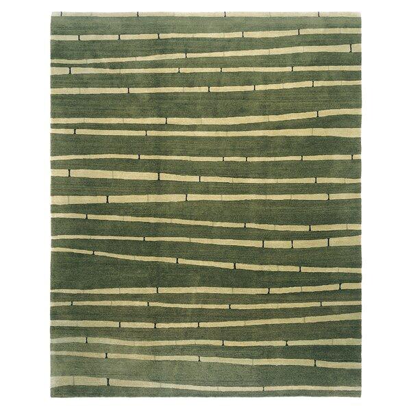 Chic & Modern Green Rug by Artisan Carpets