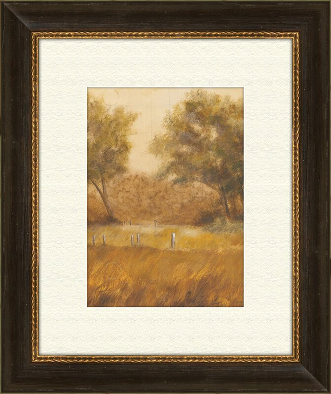 Traveled Path A Framed Painting Print