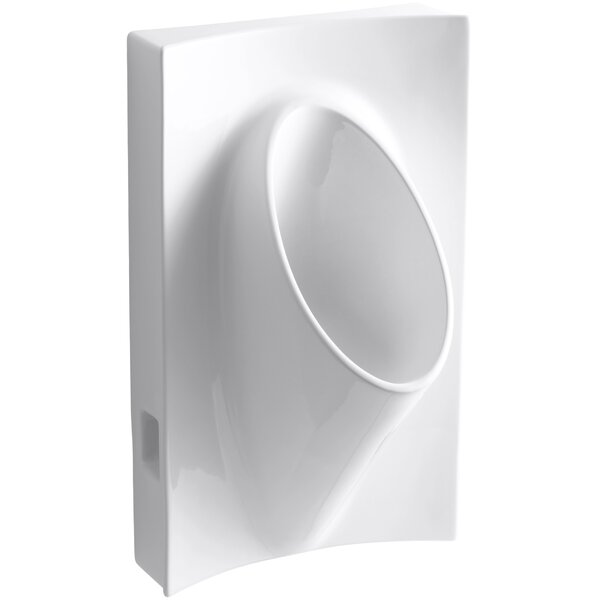 Steward Waterless 19-1/8 Wide x 31-7/8 High x 15-7/8 Deep Wall-Mount Urinal by Kohler