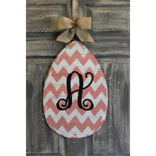 Egg Door Hanger Chevron Sign by Southern Steel Designs