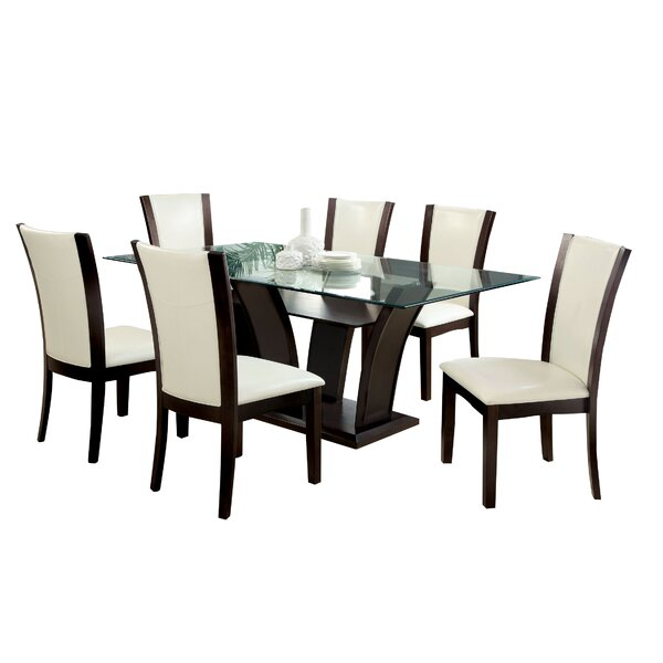Folmar 7 Piece Dining Set by Latitude Run