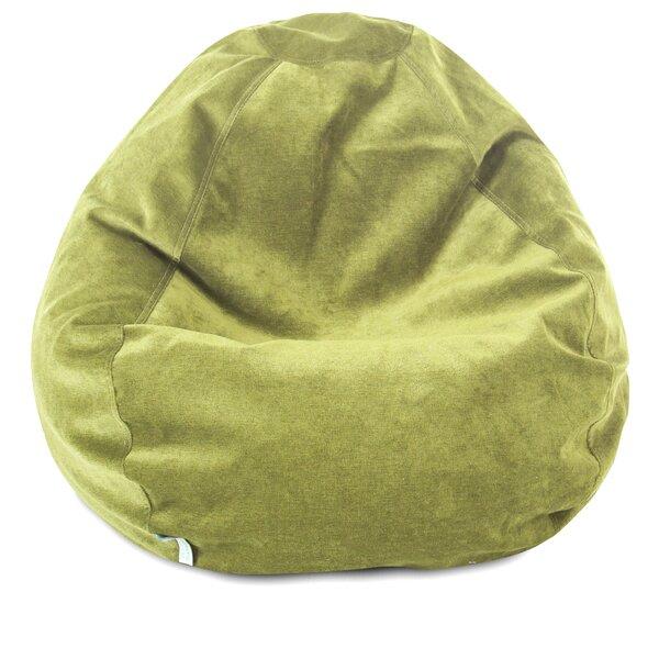 Micro Velvet Bean Bag Chair by Viv + Rae