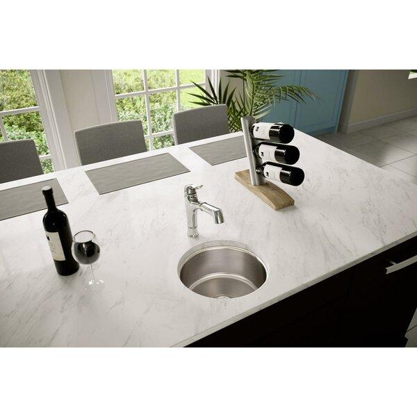 Lustertone 14 L x 14 W Undermount Kitchen Sink