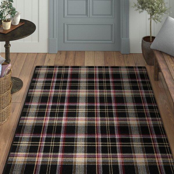 Longmont Black Indoor Area Rug by Laurel Foundry Modern Farmhouse