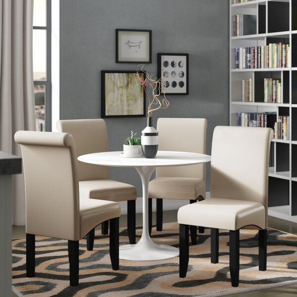 Milsons Upholstered Dining Chair by Latitude Run