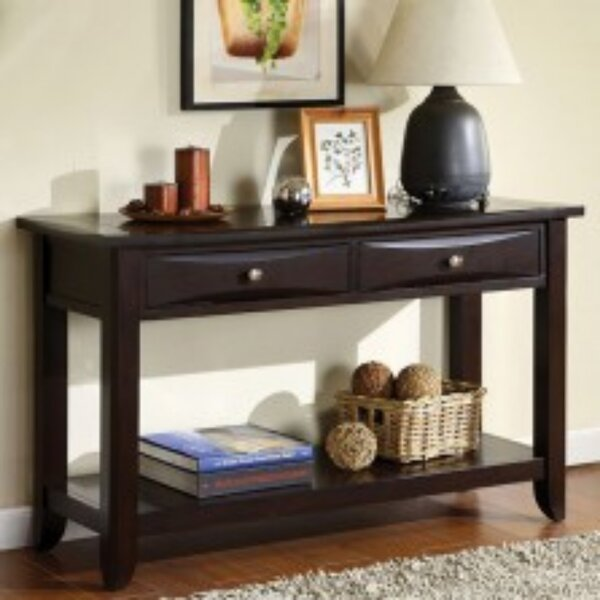Charlton Home Brown Console Tables