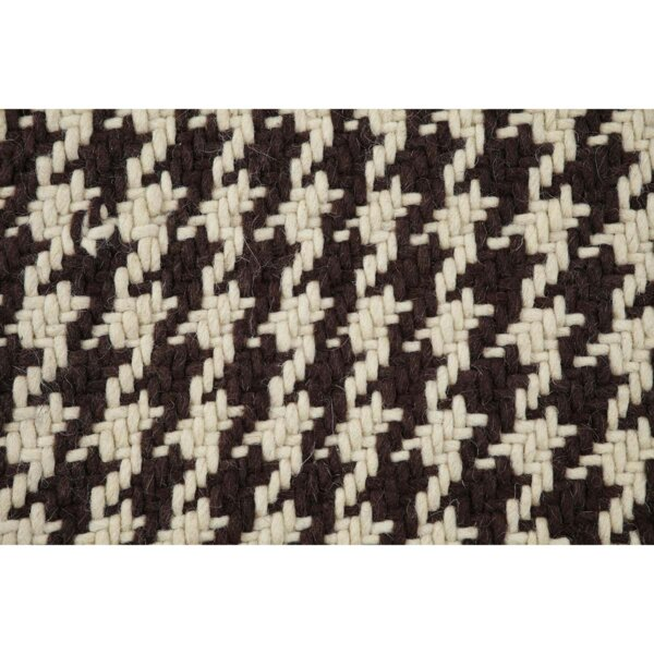 Cassie Brown/Cream Area Rug by August Grove