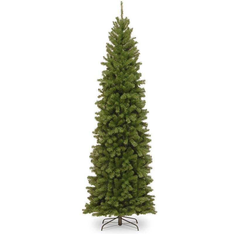 Next Slim Christmas Tree: The Holiday Aisle Pencil Slim Green Spruce Artificial